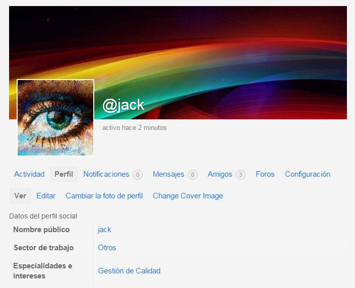 perfil social jack