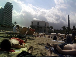 playa turismo