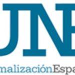 La Asociación Española de Normalización (UNE): AENOR se divide en dos, y el normalizador pasa a llamarse UNE